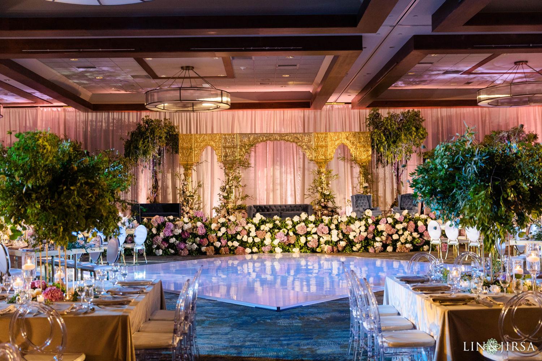 Dance Floor Hyatt Regency Lake Tahoe Resort Fusion Wedding