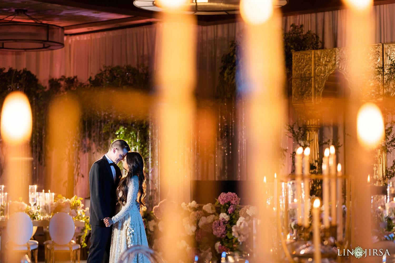 Reception first look Hyatt Regency Lake Tahoe Resort Fusion Wedding