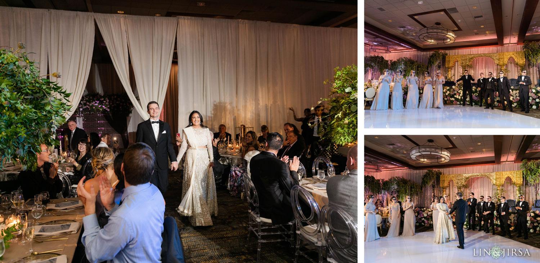Grand entrance Hyatt Regency Lake Tahoe Resort Fusion Wedding Reception