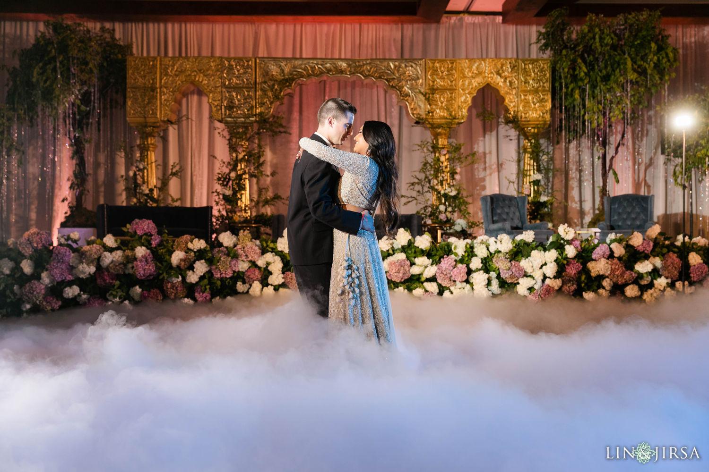 First dance Hyatt Regency Lake Tahoe Resort Fusion Wedding Reception