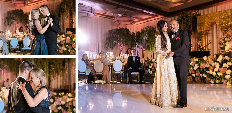 Parent Dances Hyatt Regency Lake Tahoe Resort Fusion Wedding Reception
