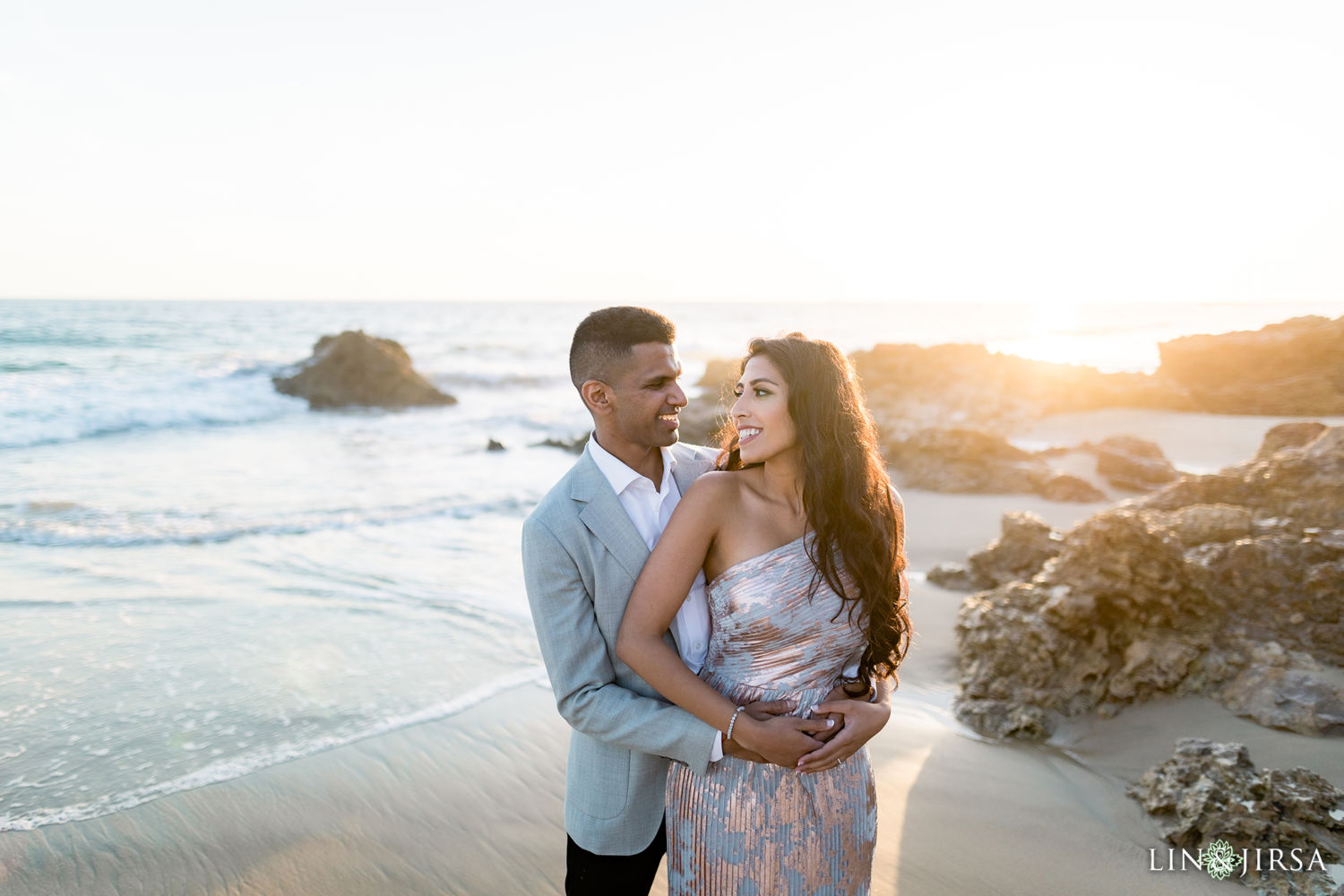 Little Treasure Cove Engagement Session Orange County Lin and Jirsa Photography 04
