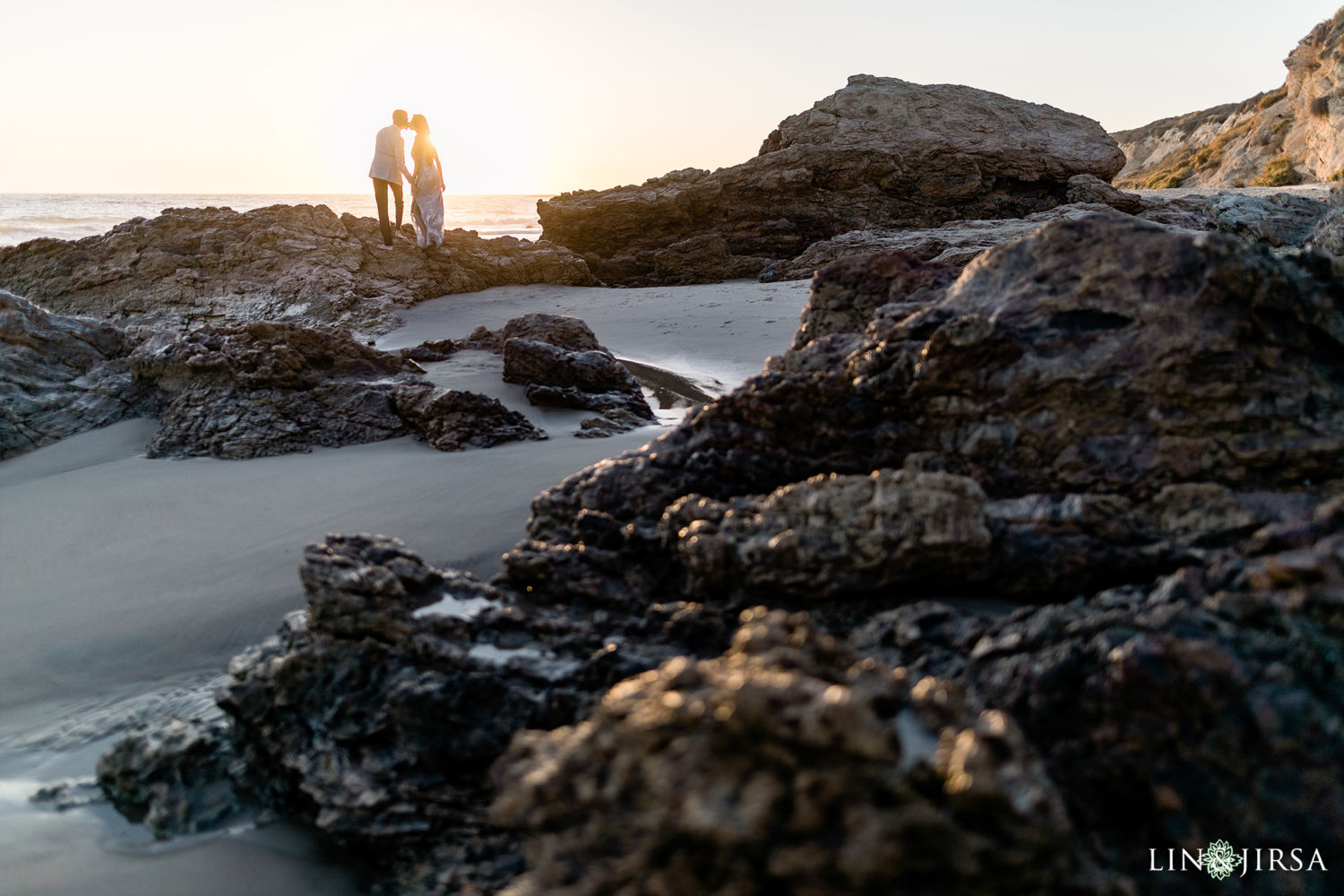 Little Treasure Cove Engagement Session Orange County Lin and Jirsa Photography 07