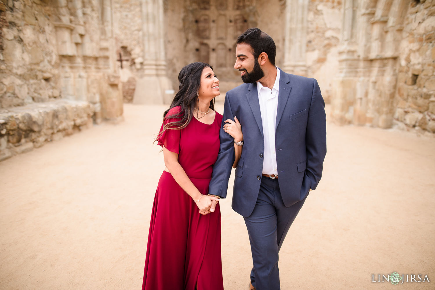 Mission San Juan Capistrano Thomas R. Riley Wilderness Park Engagement Session 007