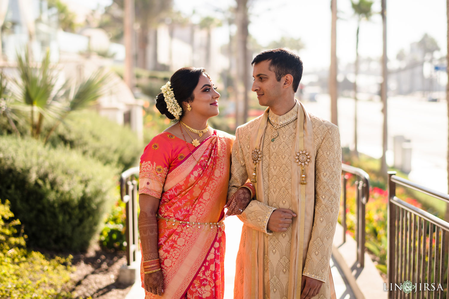 FIRST LOOK 02 Pasea Huntington Beach SOUTH Indian Wedding