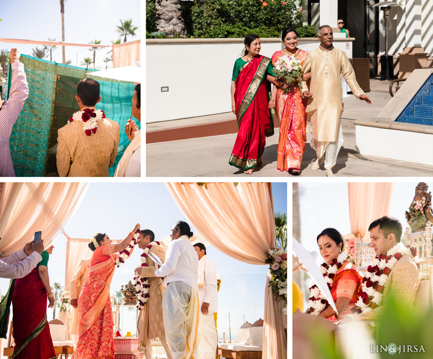 Wedding Ceremony 05 Pasea Huntington Beach SOUTH Indian Wedding