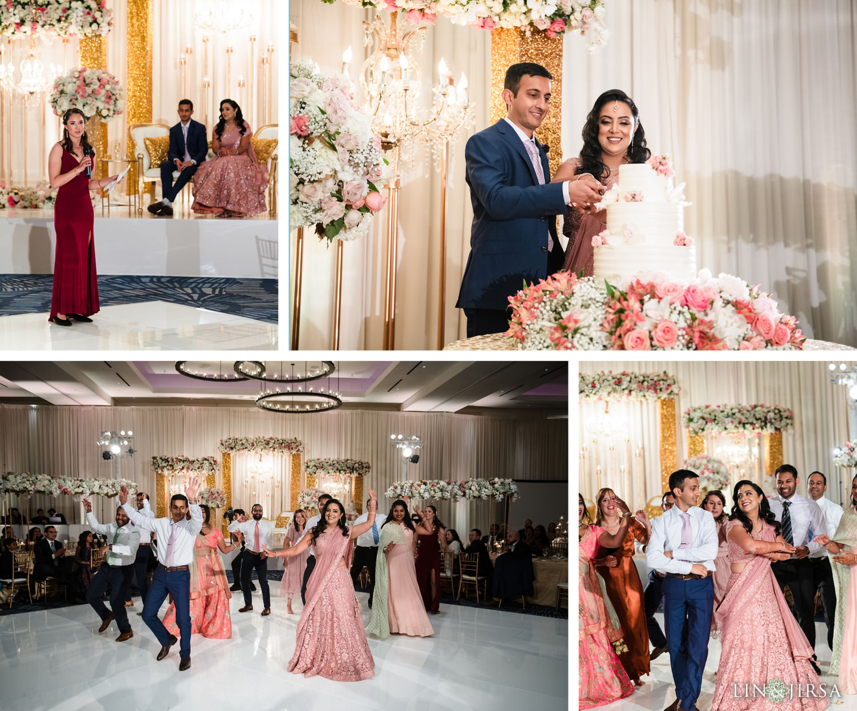 Wedding Reception Hilton Waterfront Huntington Beach Wedding dances