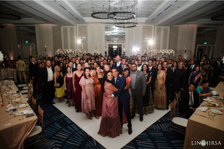 Wedding Reception Hilton Waterfront Huntington Beach Wedding 10