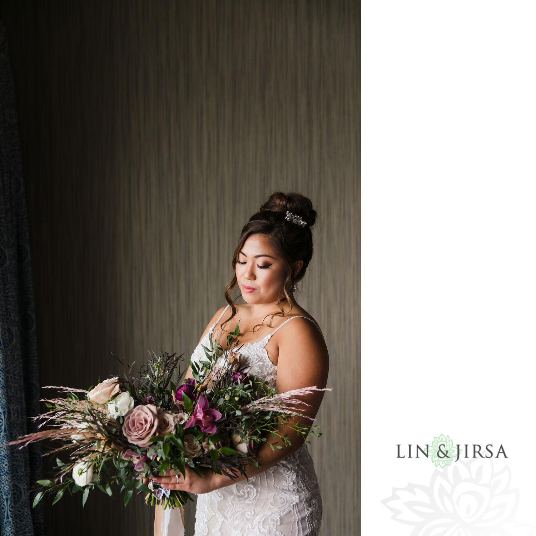BRIDE PREP 07 Hotel Maya Long Beach Samantha and Kristoffer Micro Wedding 1