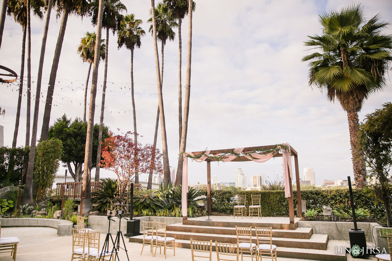 Wedding Ceremony Hotel Maya Long Beach Samantha and Kristoffer Micro Wedding