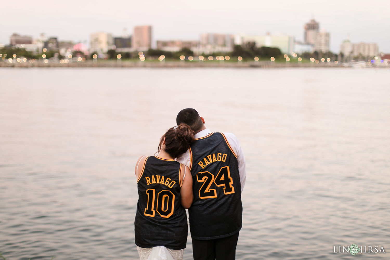 otel Maya Long Beach Samantha and Kristoffer Micro Wedding02