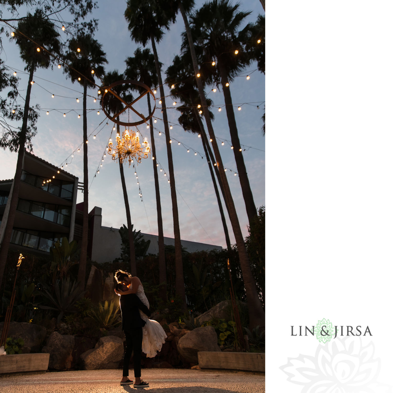otel Maya Long Beach Samantha and Kristoffer Micro Wedding03