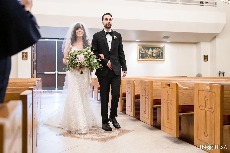 Wedding Ceremony Forty Martyrs Armenian Apostolic Church MicroWedding Lin and Jirsa04