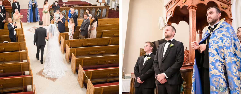 Wedding Ceremony Forty Martyrs Armenian Apostolic Church MicroWedding Lin and Jirsa03