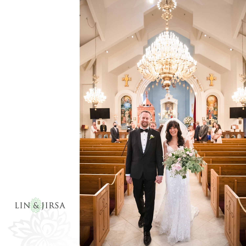 Wedding Ceremony Forty Martyrs Armenian Apostolic Church MicroWedding Lin and Jirsa08