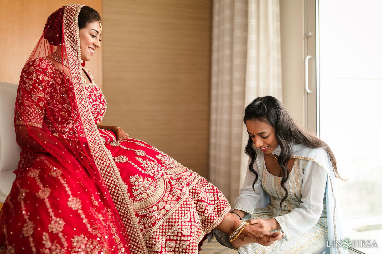 BRIDE PREP Pasea Huntington Beach Sikh Micro Wedding Lin and Jirsa3