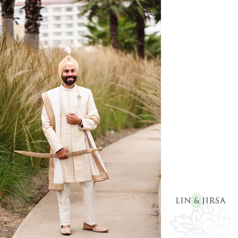 groom prep Pasea Huntington Beach Sikh Micro Wedding Lin and Jirsa3