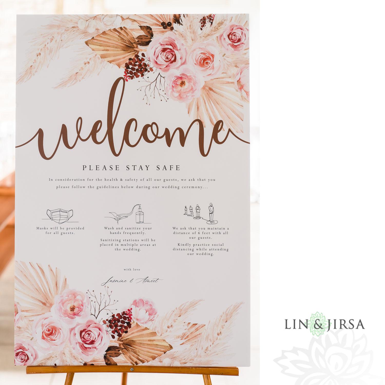 Wedding Ceremony Pasea Huntington Beach Sikh MicroWedding Lin and Jirsa