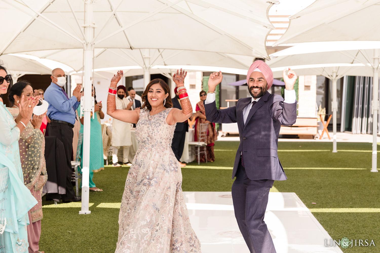 Wedding Lunch Pasea Huntington Beach Sikh Micro Wedding Lin and Jirsa03