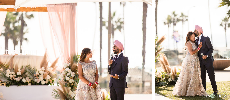 Wedding Lunch Pasea Huntington Beach Sikh Micro Wedding Lin and Jirsa009