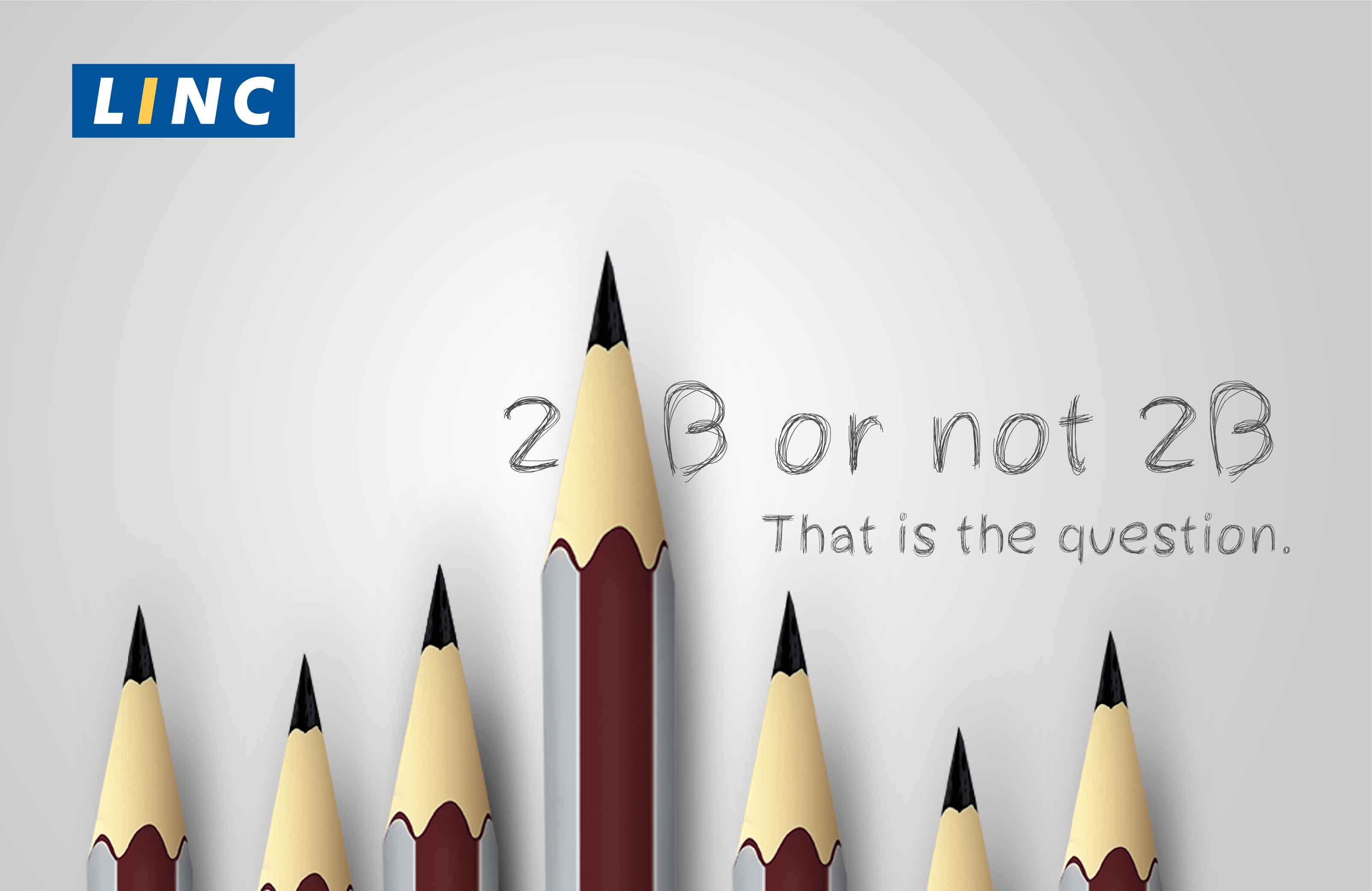 2B pencil Linc