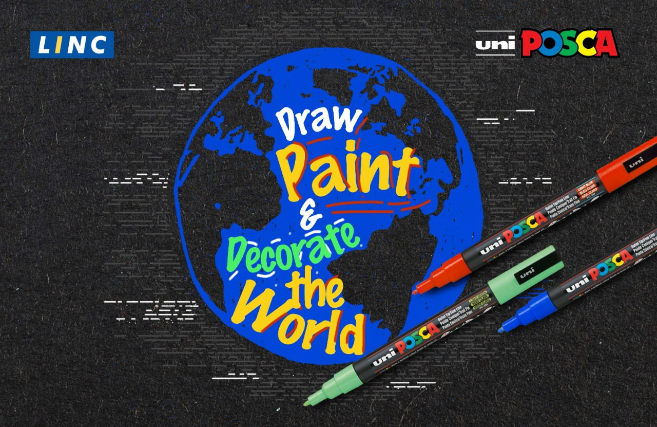 Linc, linc pens, Uni Posca Paint Markers, Uni Ball, Markers, Posca Paint