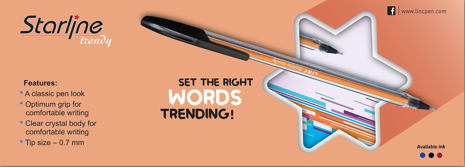 linc starline trendy pen