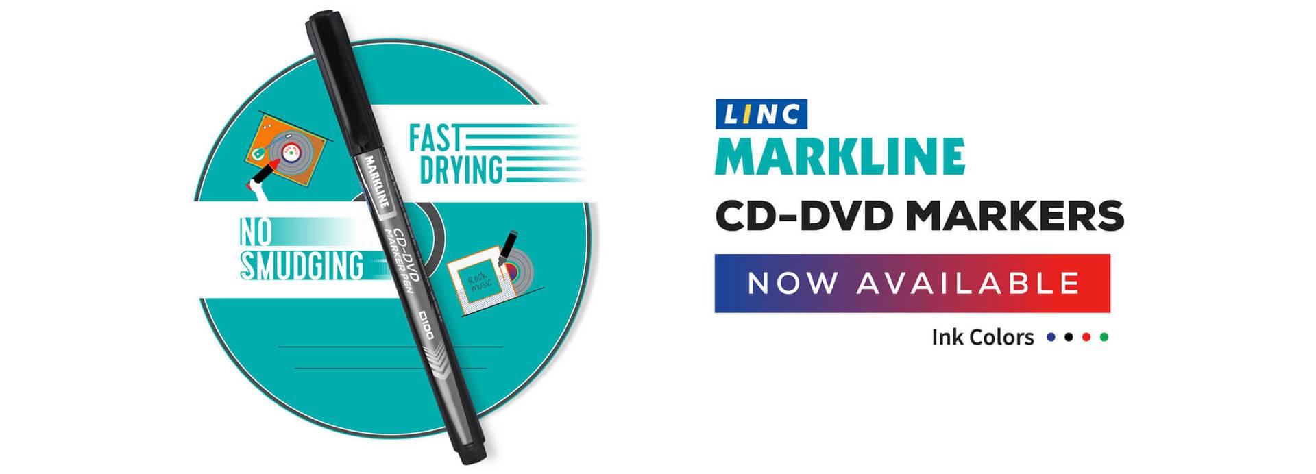 cd dvd marker pen