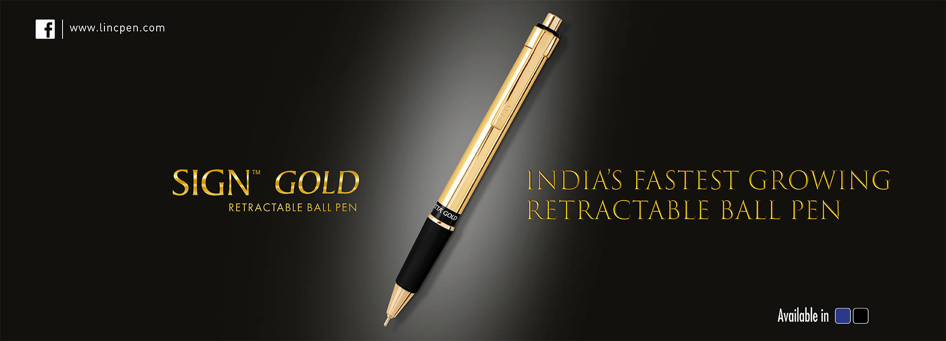 Signetta Gold Ball Pen