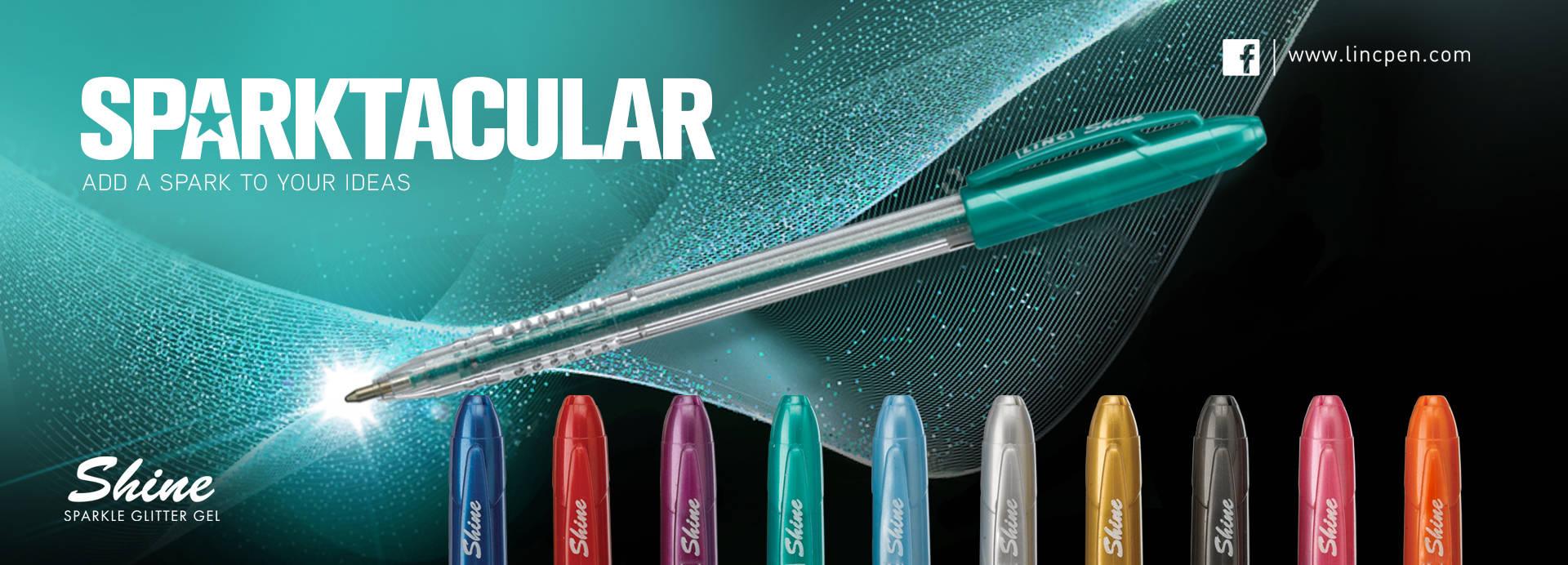 sparkle ink pens