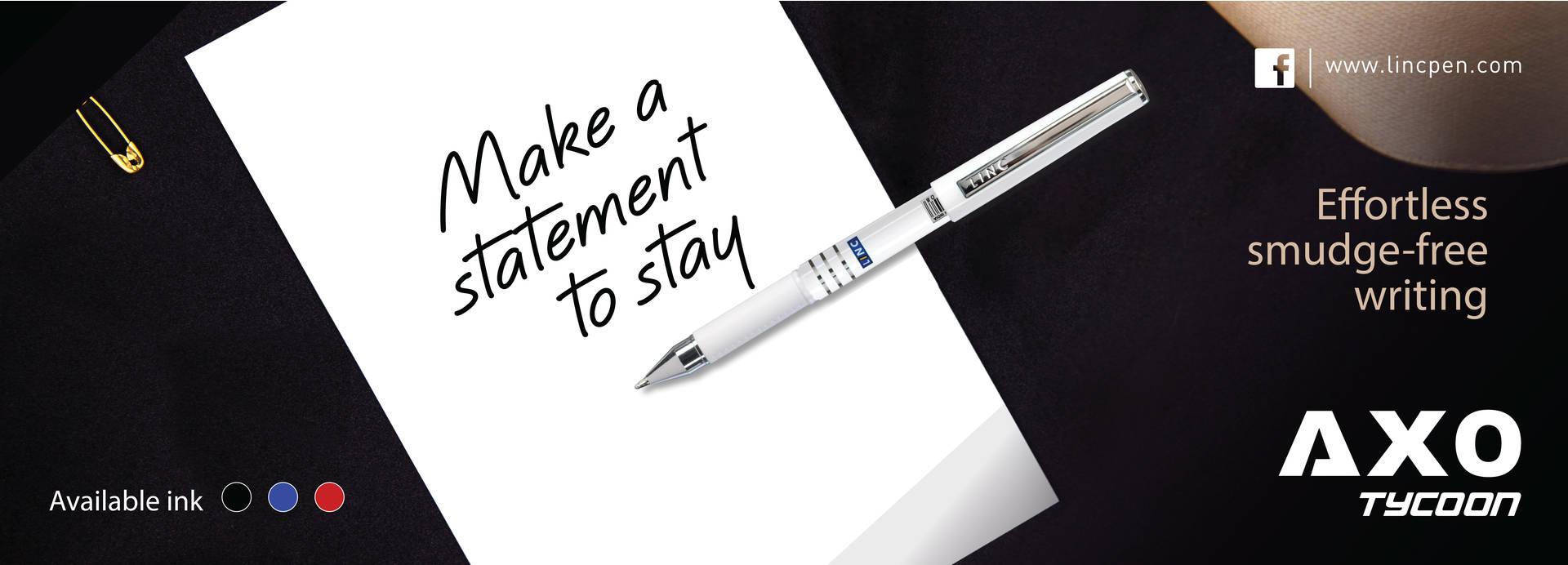 smooth ball pen
