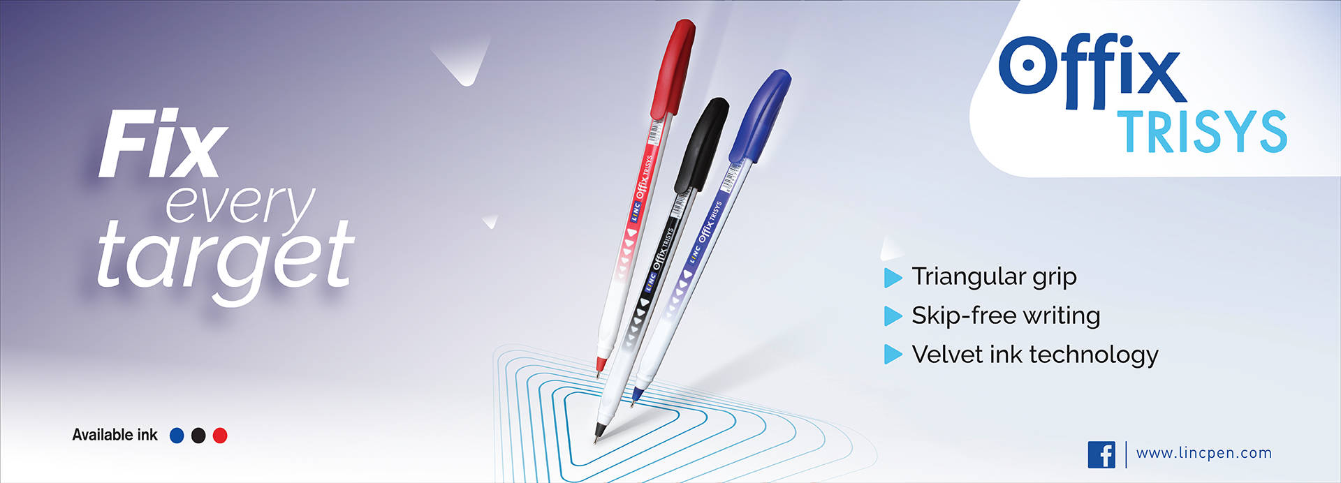 Linc Offix Trisys Ball Point Pen