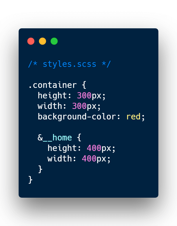Styling boxes with SASS
