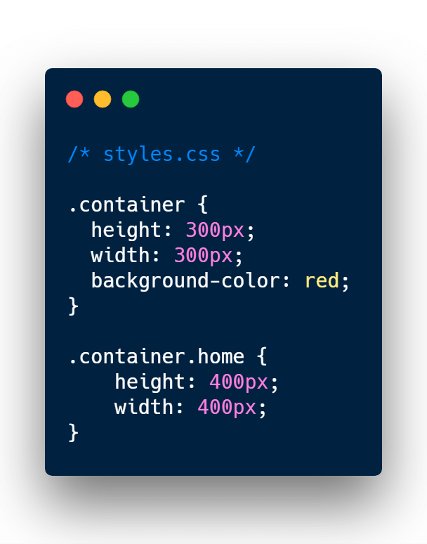 Basic CSS styling boxes