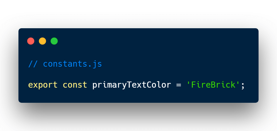 CSS constant in JavaScript