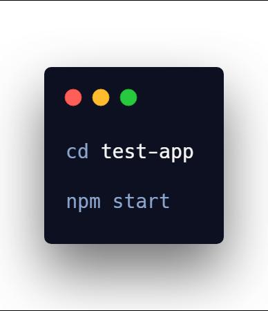 Start Create React App