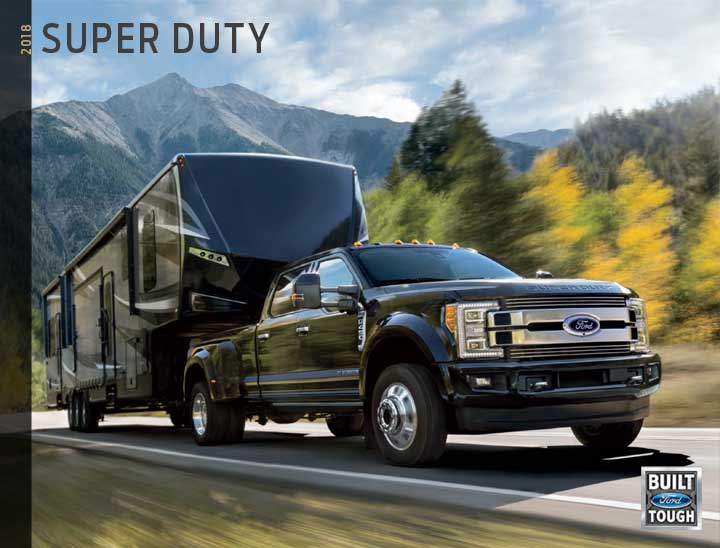 2018 Super Duty Brochure