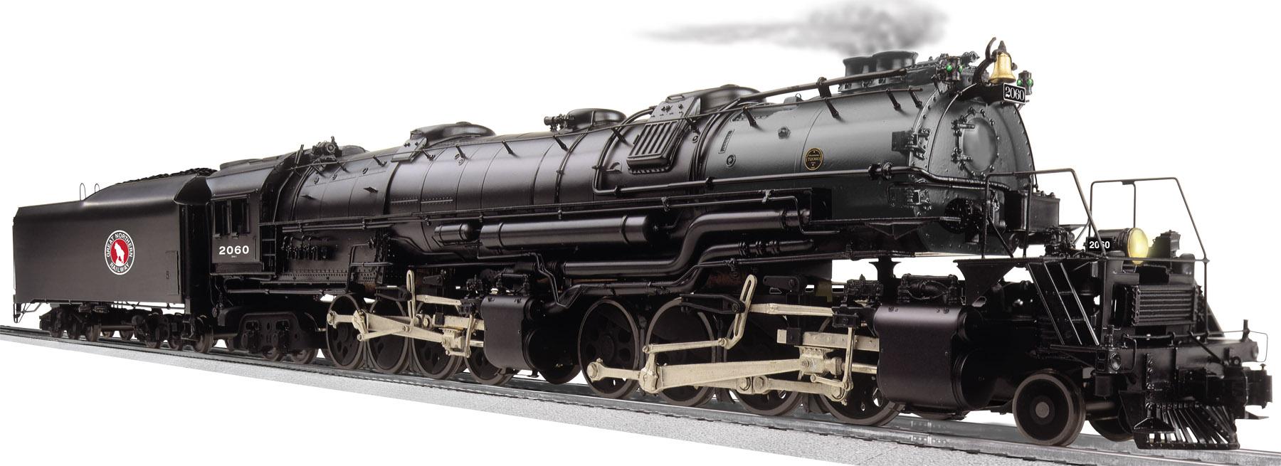 Great Northern LEGACY Scale 2-8-8-4 EM-1 Steam Locomotive #2060