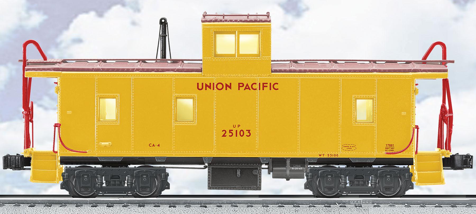 Union Pacific CA-4 Caboose #25103