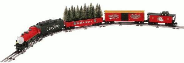 Christmas Train Cast.Celebrate A Lionel Christmas Set 4 4 2 Steam Loco 3766
