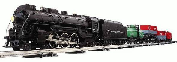 New York Central Flyer Freight Set Air Whistle Version (4-4