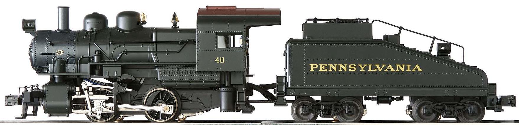 PRR A5 Scale Die Cast Switcher & Die Cast Tender w/TMCC & RailSounds