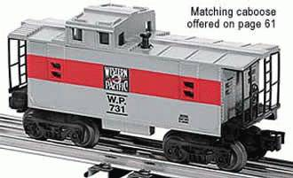 Western Pacific Caboose