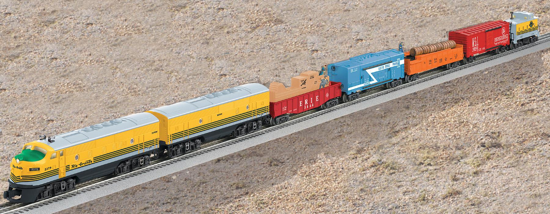 #2291W Rio Grande Freight (TMCC F3 A & DMY B #2379 )