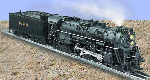 Nickel Plate Road TMCC 2-8-4 Berkshire #779