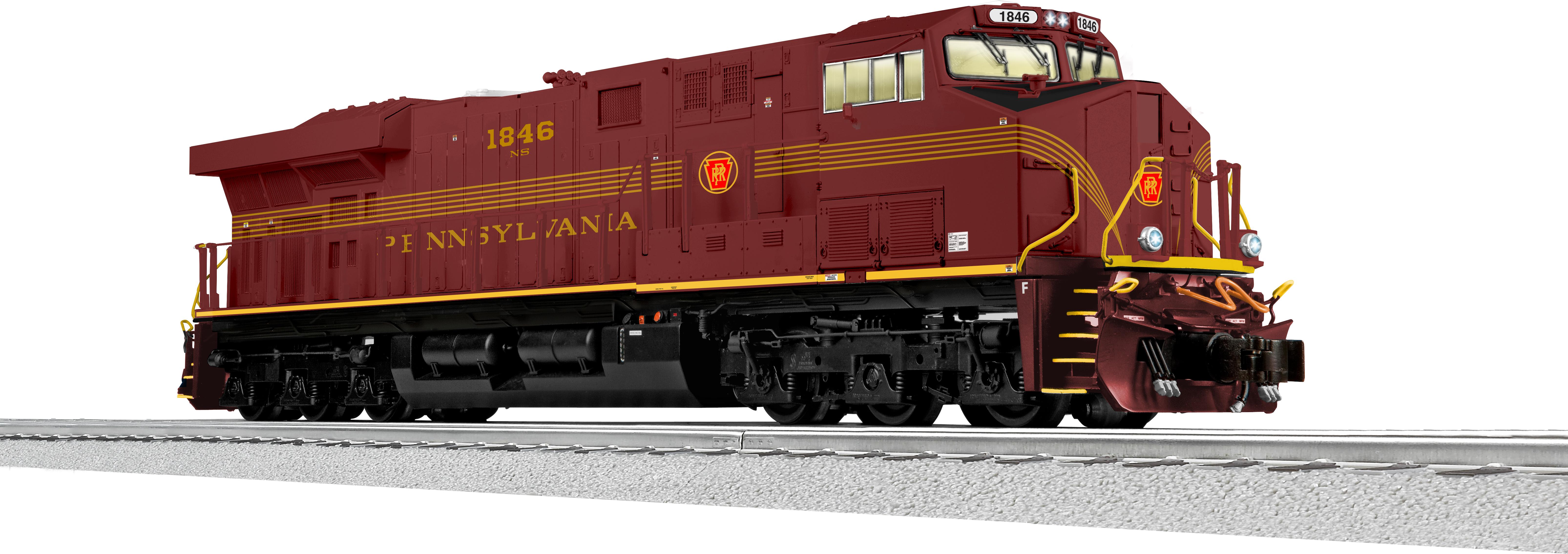 Pennsylvania NS Heritage LEGACY ES44AC Diesel #1846