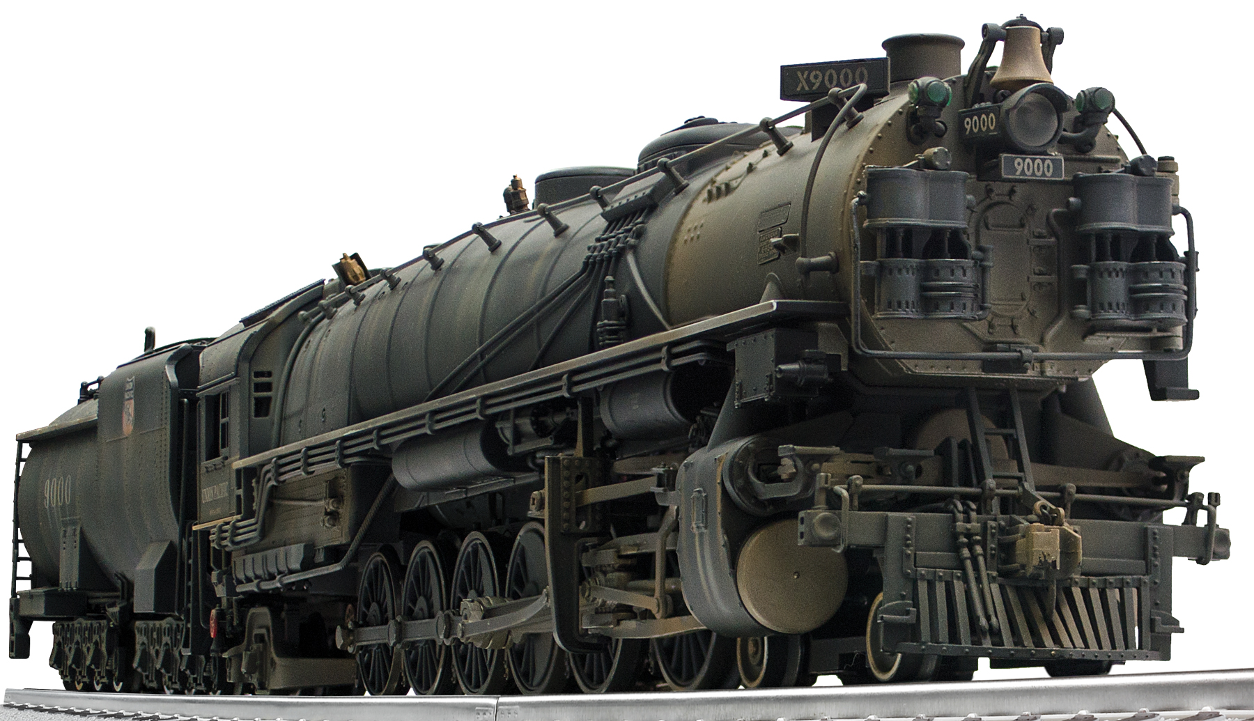 Weathered Union Pacific Legacy Scale 4 12 2 Steam