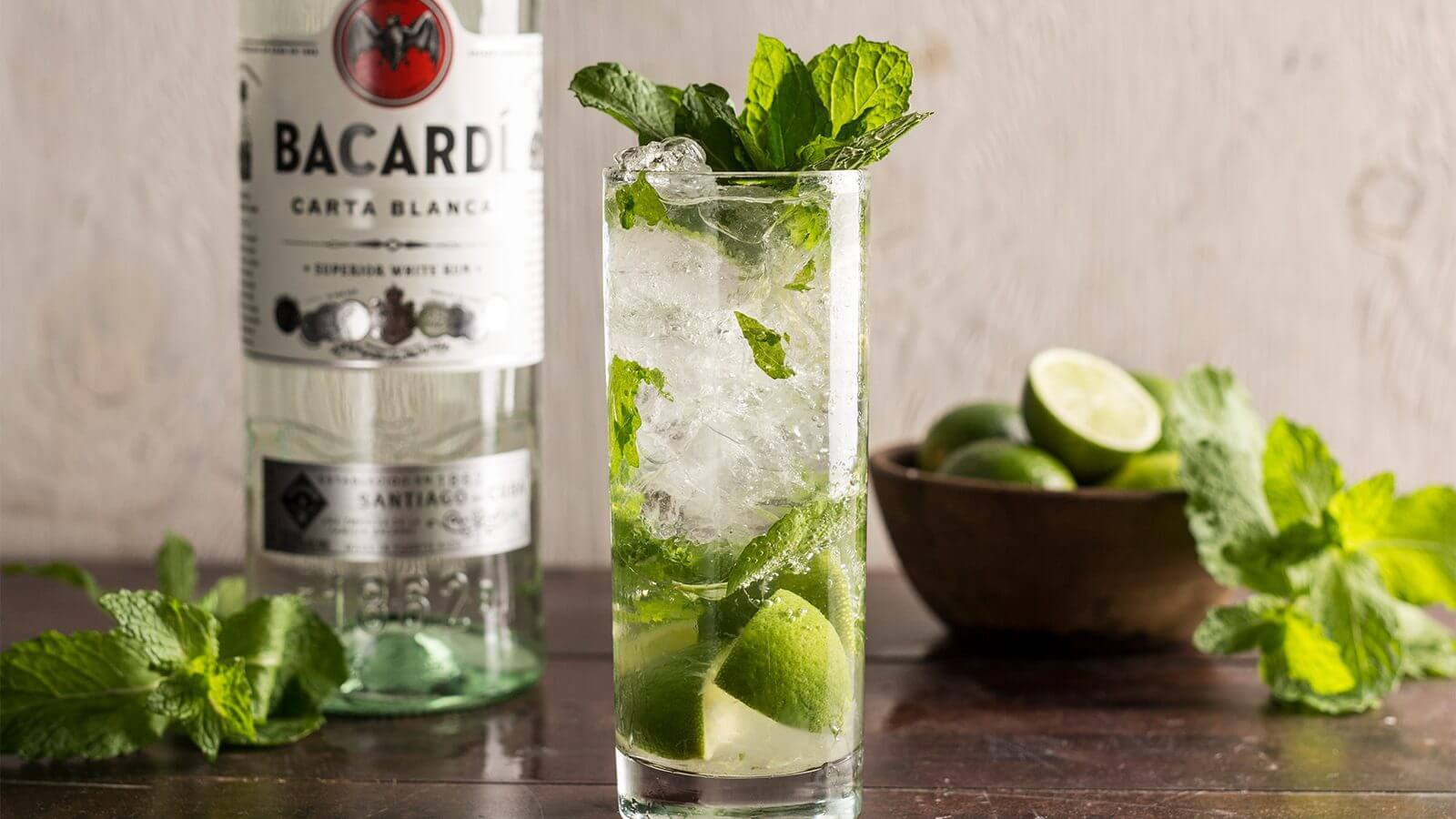 The Mix Mojito Recipe Rum Soda Water Cocktails