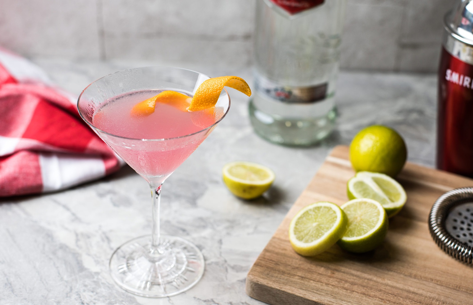 The Mix Cosmopolitan Cocktail Recipe Vodka Cocktails