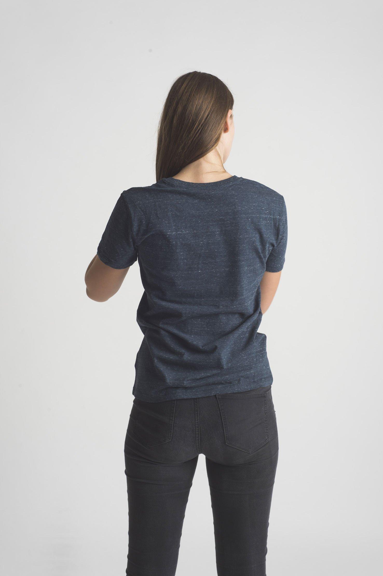 T Shirt Speckled Blue Liquicity Store